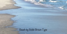 Beach by bobbi brown type