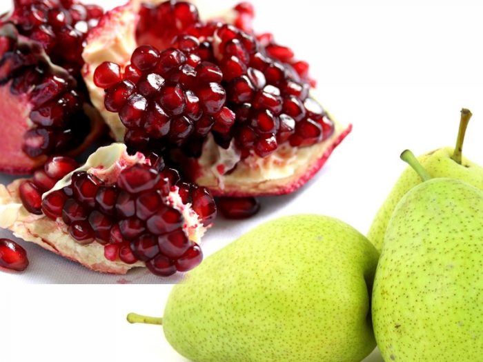 Pear And Pomegranate