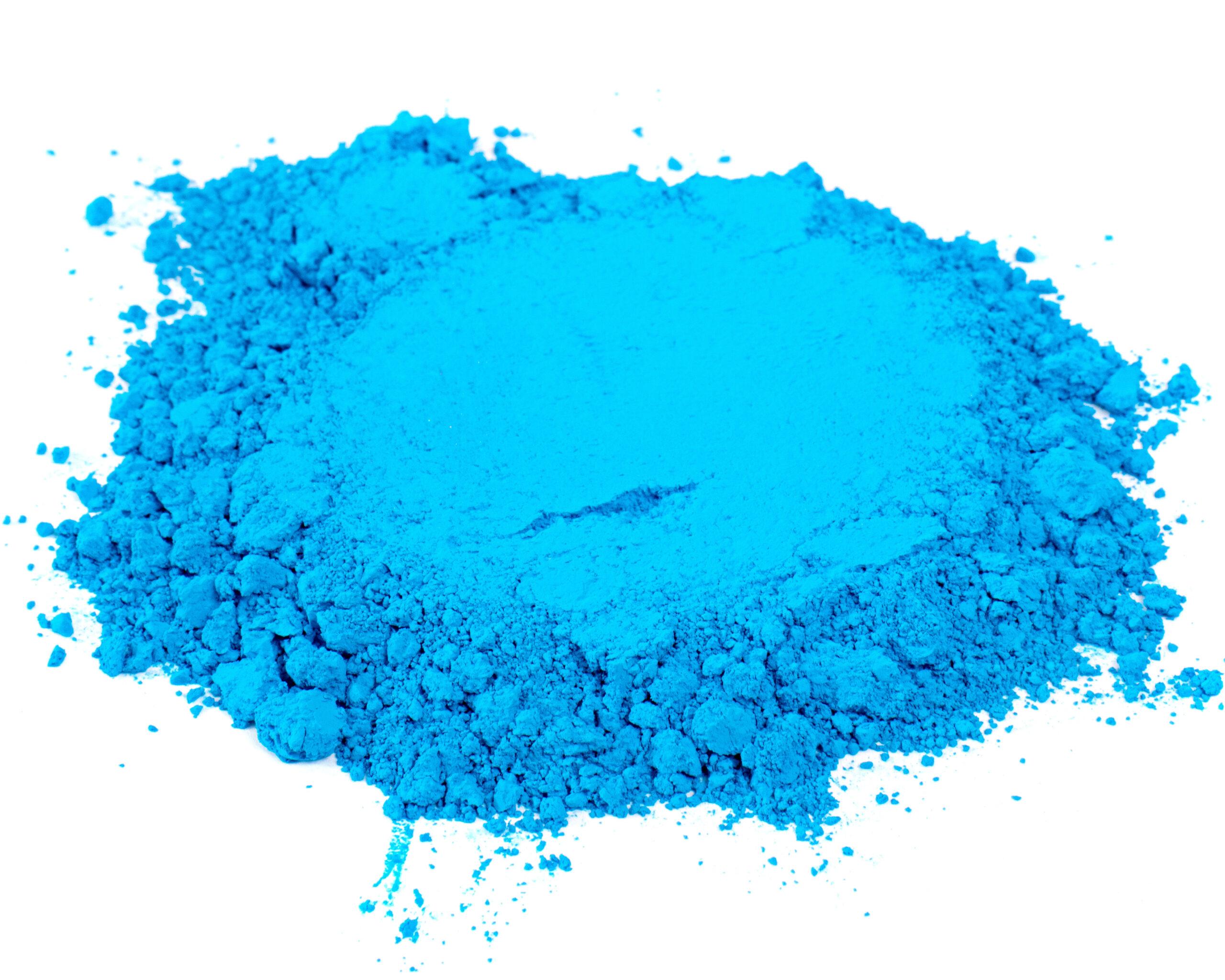 bright blue color pigment