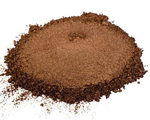 dark chocolate brown mica
