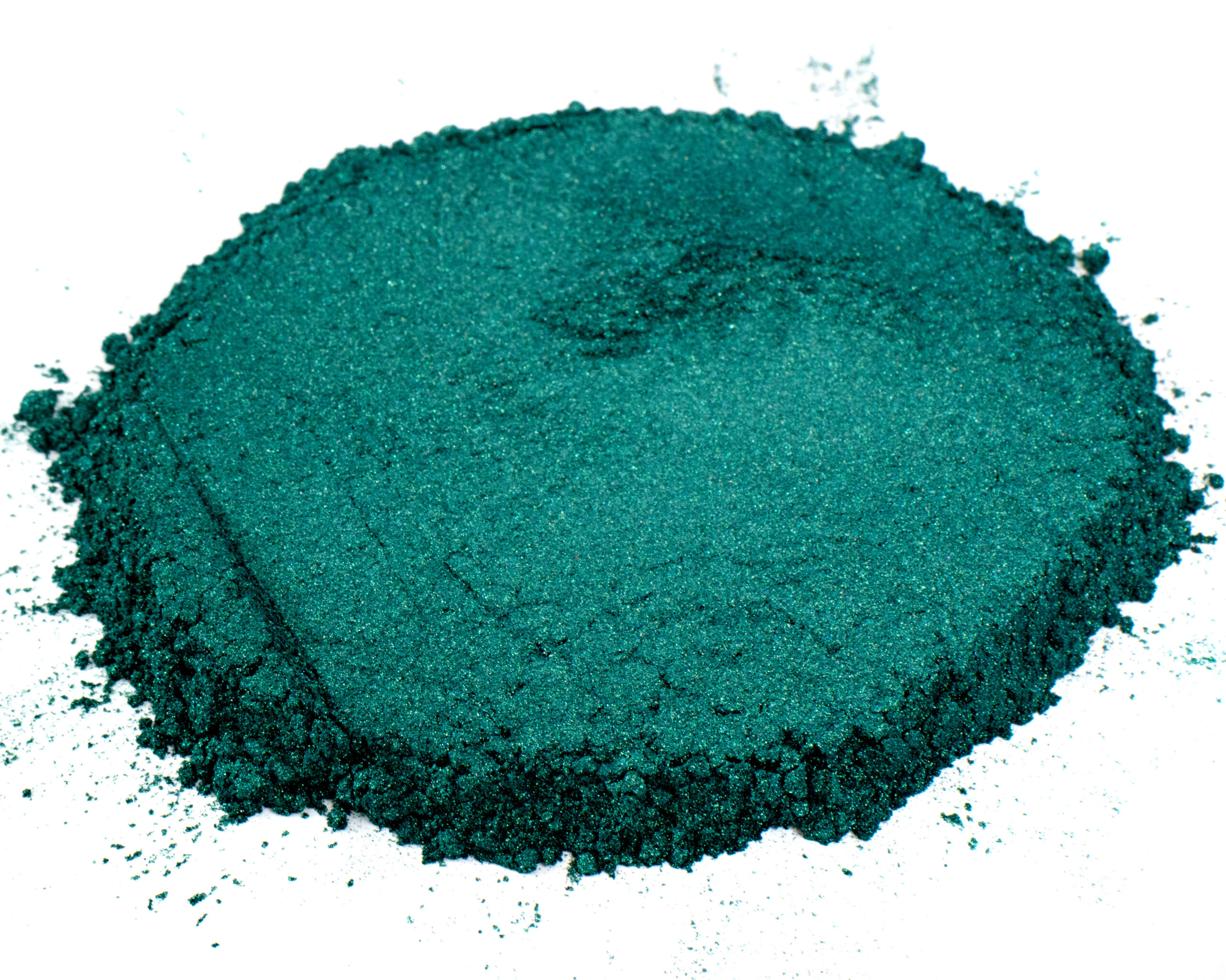 emerald green mica
