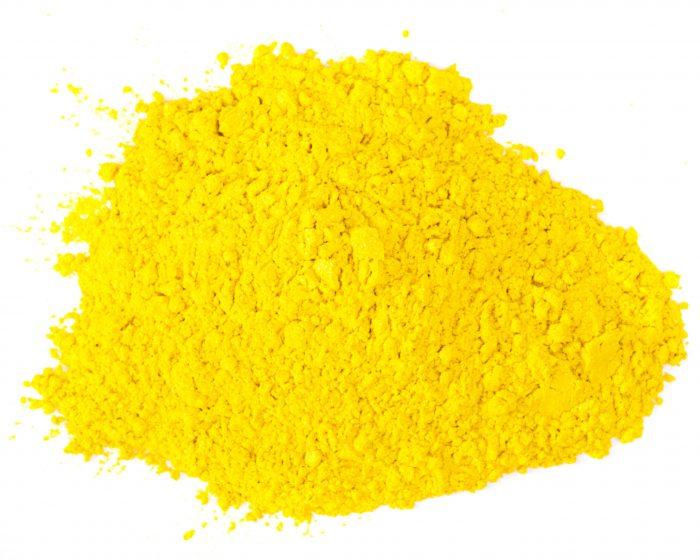 goldenrod yellow mica