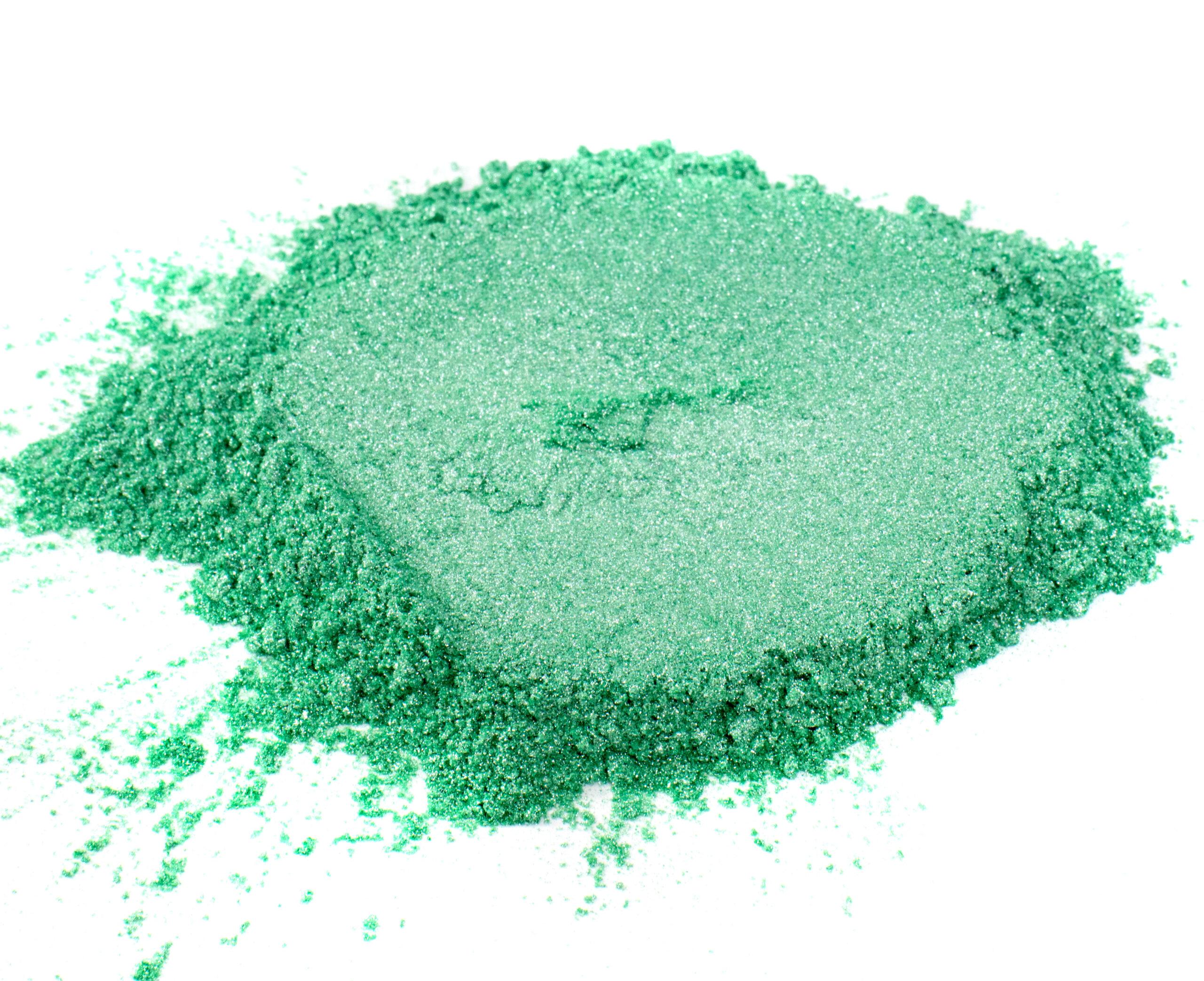 sea foam green mica