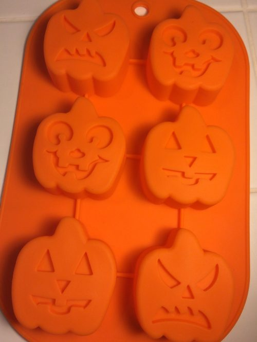 Halloween Pumpkins Silicone Mold