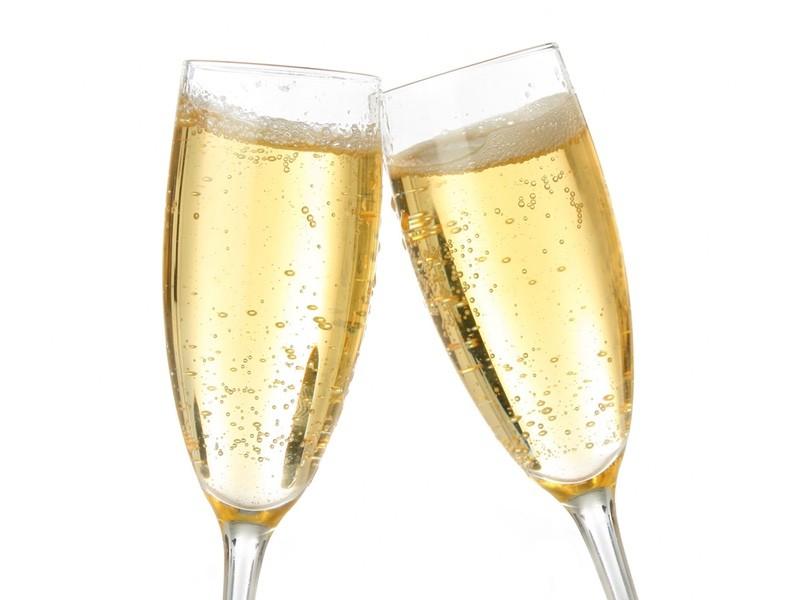 sprakling champagne