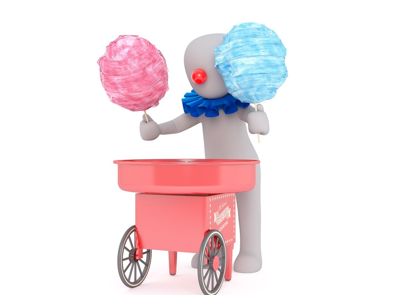 cotton candy listing