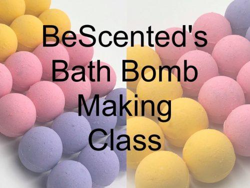 Bath Bomb Making Class