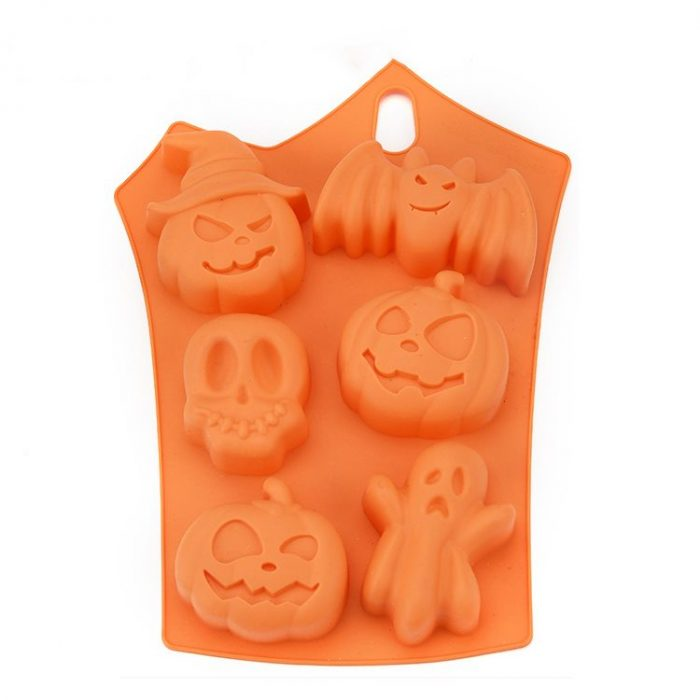Halloween silicone mold 1