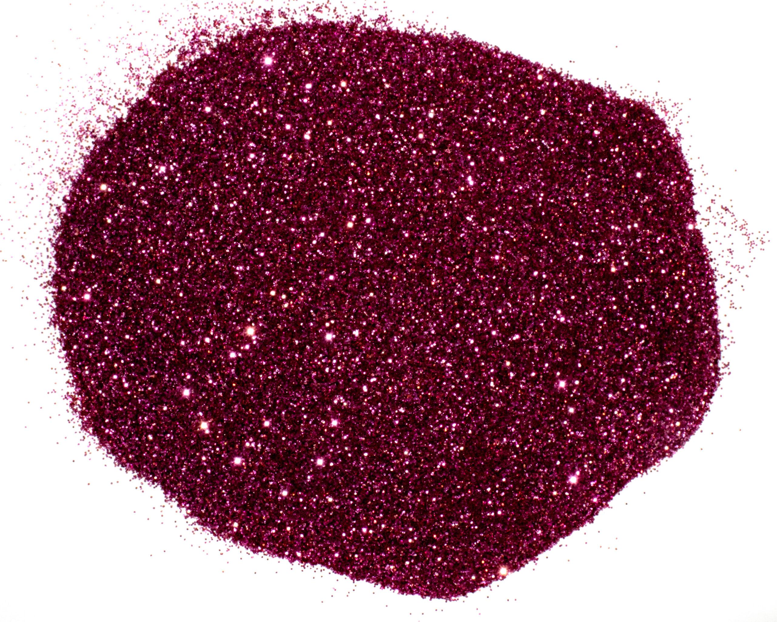 plum crazy purple glitter